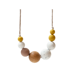 McKenzie Moonstone Teething Necklace
