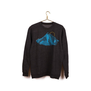 Mt Hood Crewneck Sweater by Tender Loving Empire