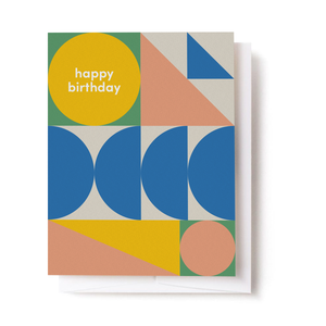 Happy Birthday Scandi Card