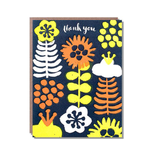 Fat Flower Thank You Card