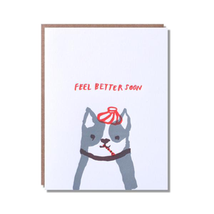 Feel Better Soon Dog Card