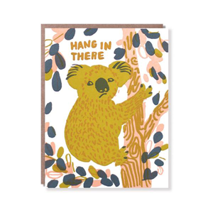 Hang in There Koala Card