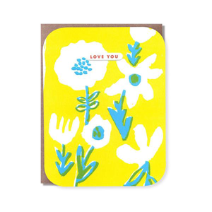 Knock Out Floral Love You Card