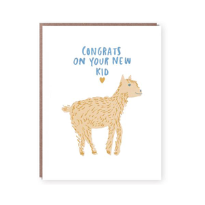 New Kid Congrats Baby Card