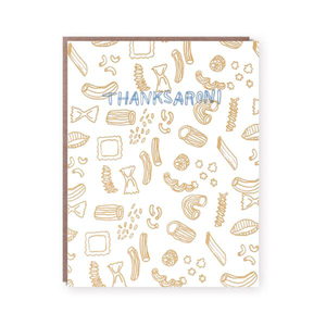 Thanksaroni Card