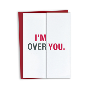 Over You Card