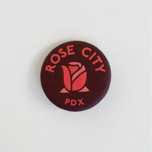 Rose City Button