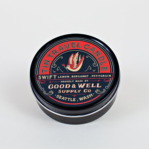 Travel Tin Candle 4oz