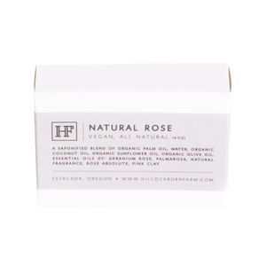 Natural Rose Soap