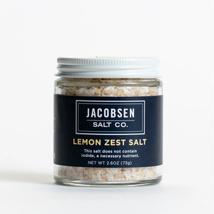 Lemon Zest Sea Salt
