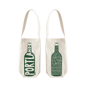 Single Wine Tote - Portland