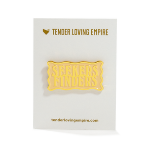 Seekers Finders Pin