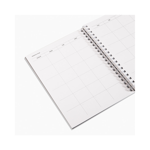 Abstract Daily Weekly Monthly Planner