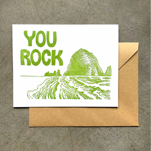 You Rock Coast Card