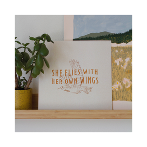 She Flies Print (2020)