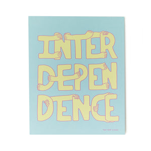 Interdependence Print by The Far Woods and Tender Loving Empire