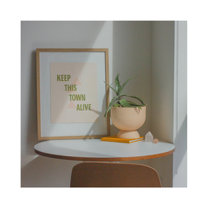 "Keep This Town Alive Print (11""x14"")"