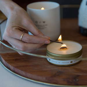 Penrose x TLE: Coast Travel Candle
