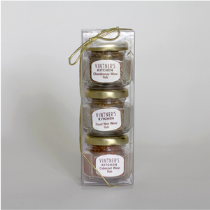 Wine Rub Trio Jars