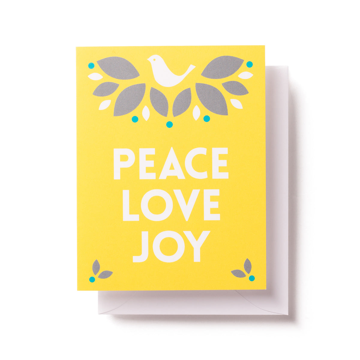 Holiday Dove Card by Graphic Anthology