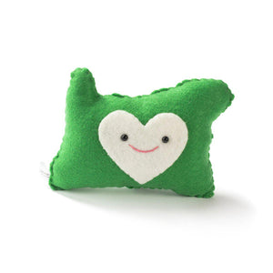 Heart Portland Oregon Plush
