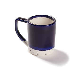 Indigo with Mini Triangles Mug