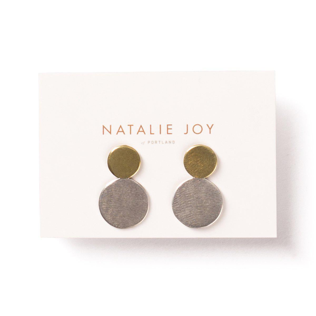 Moonlet Earrings by Natalie Joy