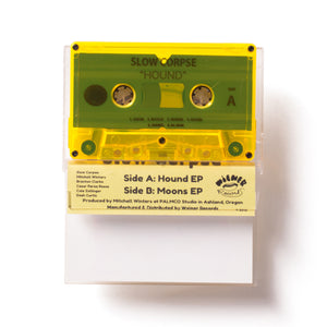 Hounds/Moons Cassette EP by Slow Corpse