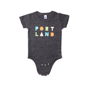 Portland Shapes Onesie