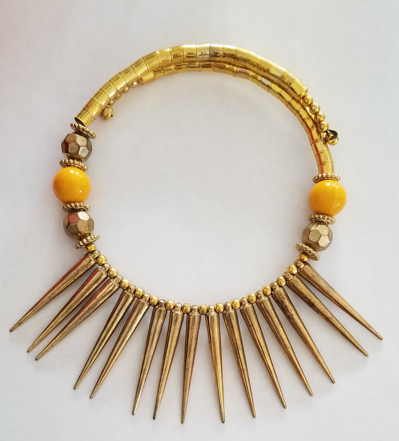 Necklace Indian Spike Choker