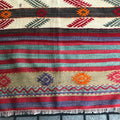 Rug Vintgage Turkish Kilim long runner  2.5 x 11.5