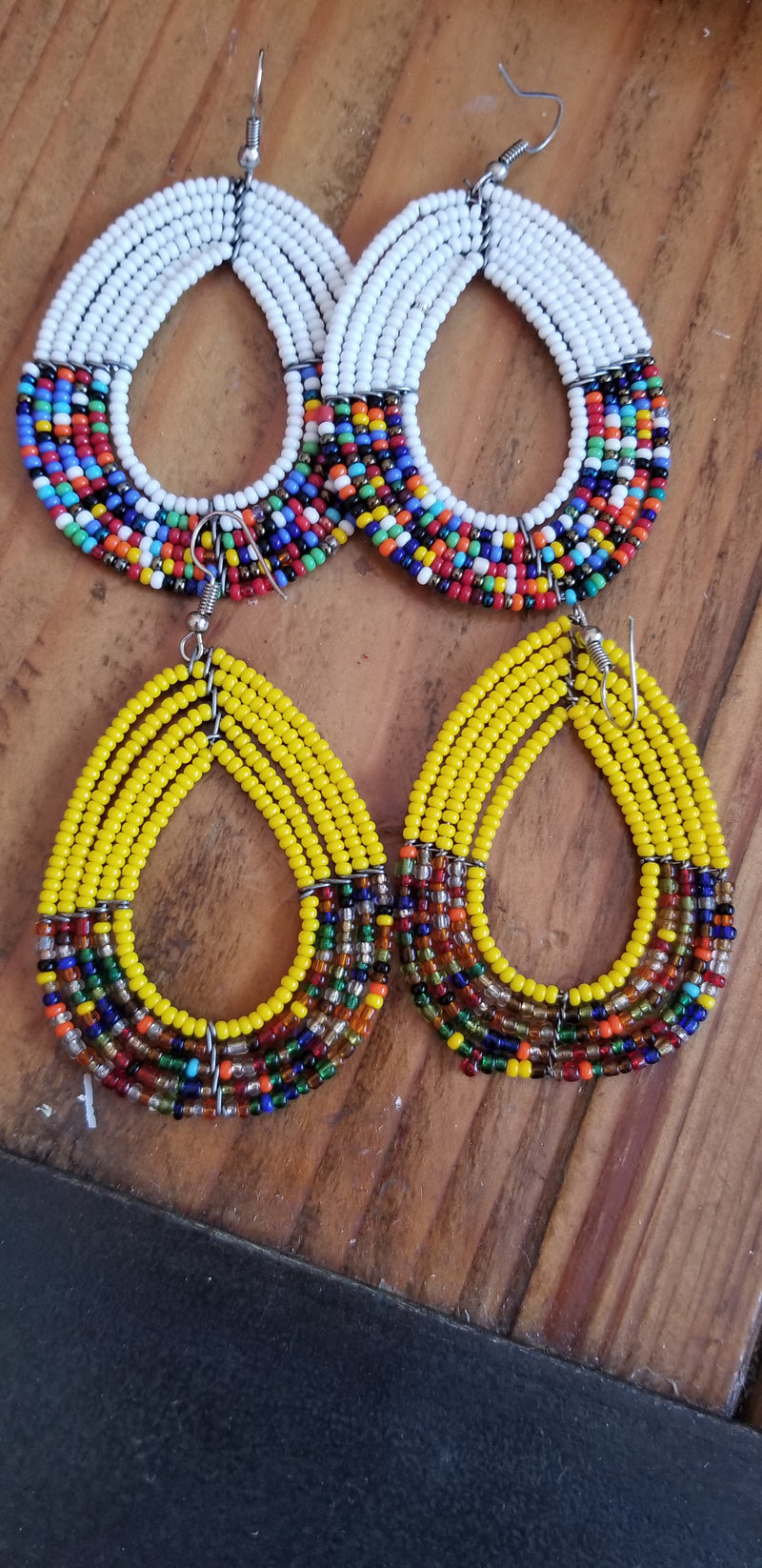 Earrings kenya beaded
