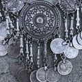 Necklace North African w/ Antique Coins