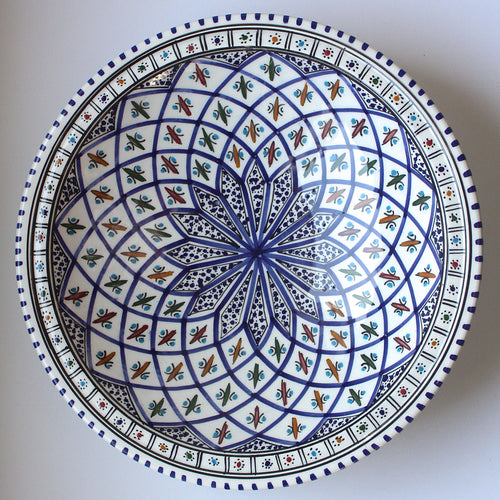 Serving Bowl Tunisian Dark Blue