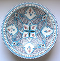 Serving Bowl Tunisian Turquoise