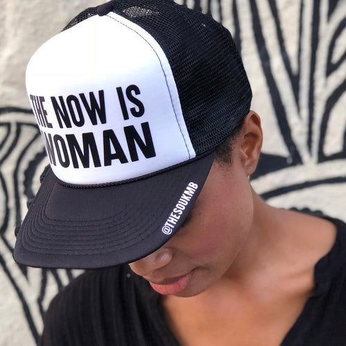 The Now is Woman Trucker Hat