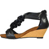 VANGELO Women Sandal AISHA-2 Wedge Sandal Black