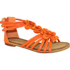 VANGELO Women Sandal AISHA Flat Sandal Orange