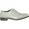 ALLURE MEN Boy AL01KID Dress Shoe Formal Tuxedo for Prom & Wedding and School Uniform Cement Grey