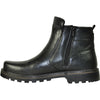 BRAVO Men Boot DEAN-16 Casual Winter Fur Boot - Water Proof Black