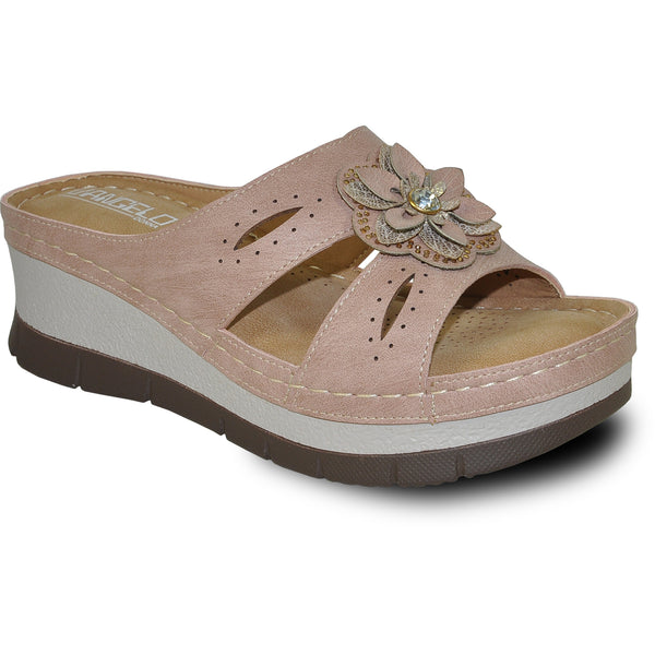 VANGELO Women Sandal DESTINY Wedge Sandal Pink