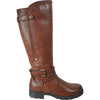 VANGELO Waterproof Women Boot HF0603 Knee High Casual Boot Brown