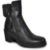 VANGELO Women Boot HF8410 Ankle Dress Boot Black