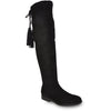VANGELO Women Boot HF8417 Over-The-Knee Dress Boot Black