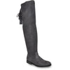 VANGELO Women Boot HF8417 Over-The-Knee Dress Boot Grey