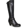 VANGELO Women Boot HF8422 Knee High Dress Boot Black