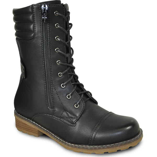 VANGELO Water Proof Women Boot HF9434 Ankle Casual Boot Black