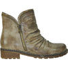 VANGELO Water Proof Women Boot HF9435 Ankle Casual Boot Taupe Brown