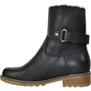 VANGELO Women Water Proof Boot HF9536 Ankle Winter Fur Casual Boot Black