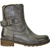 VANGELO Women Water Proof Boot HF9536 Ankle Winter Fur Casual Boot Cool Brown